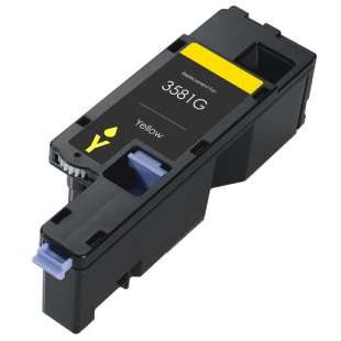 Remanufactured for Dell 593-BBJW (3581G) toner cartridge - yellow