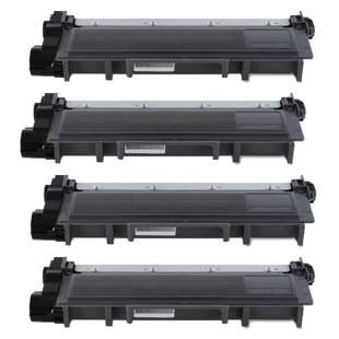 Remanufactured for Dell 593-BBKD toner cartridge - high capacity black - 4-pack