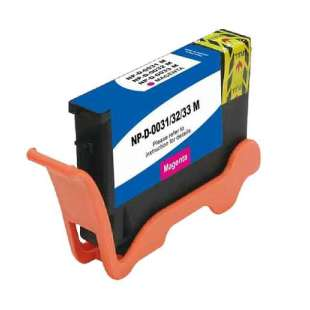 Compatible ink cartridge guaranteed to replace Dell 6M6FG (Series 31, 32, 33, 34) - extra high capacity magenta