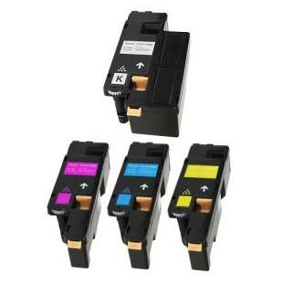 Remanufactured for Dell 332-0399 / 332-0400 / 332-0401 / 332-0402 toner cartridges - 4-pack