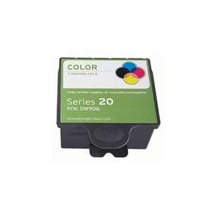Compatible ink cartridge guaranteed to replace Dell DW906 (Series 20) - color cartridge