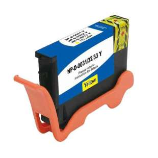 Compatible ink cartridge guaranteed to replace Dell GRW63 (Series 31, 32, 33, 34) - extra high capacity yellow