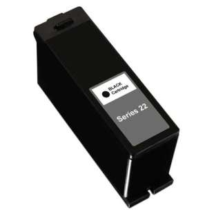 Compatible ink cartridge guaranteed to replace Dell T091N (Series 22) - high capacity black