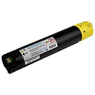 Remanufactured for Dell 330-5852 (T222N) toner cartridge - high capacity yellow