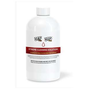 32oz (950ml) DTGPRO Printhead and Capping Station XtremeCleaning Solution (for cleaning / flushing all Epson based DTG printheads and wet capping)
