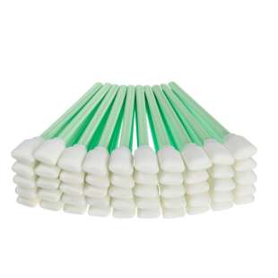 100 x Professional Printer Cleaning Foam Swabs for DTG and UV Printers (including for Epson, Roland, Mimaki, Mutoh, Epson, HP, INCA and more)
