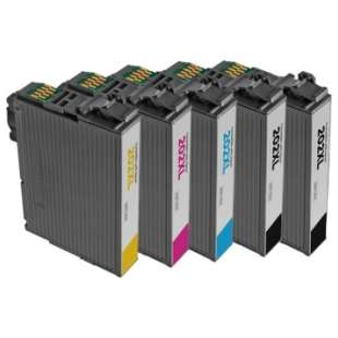 Remanufactured ink cartridge from Atlantic Inkjets Multipack for Epson 202XL - 4 pack