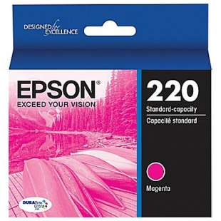 Original Epson T220320 (220 ink) high quality inkjet cartridge - magenta
