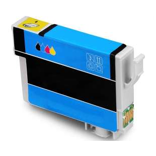 Remanufactured Epson T288XL220 (288XL ink) high quality inkjet cartridge - high capacity cyan