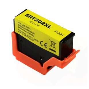 Remanufactured Epson T302XL420 (302XL) inkjet cartridge - high capacity yellow