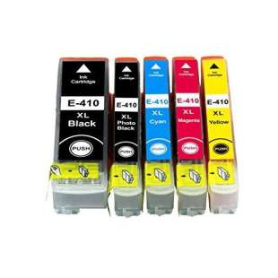Remanufactured high quality inkjet cartridges Multipack for Epson 410XL - 5 pack