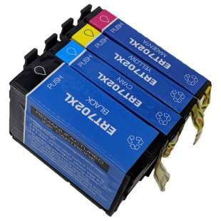 Remanufactured inkjet cartridges Multipack for Epson 702XL - 4 pack
