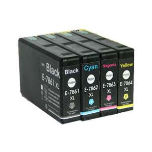 Remanufactured high quality inkjet cartridges Multipack for Epson 786XL - 4 pack