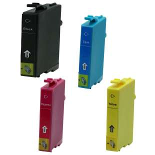 Premium ink cartridge for Epson 802XL - high capacity 4 pack - Made in the USA