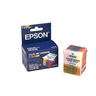 Original Epson S020097 high quality inkjet cartridge - color cartridge