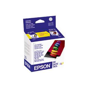 Original Epson S191089 high quality inkjet cartridge - color cartridge