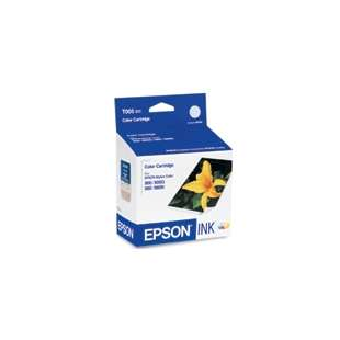 Original Epson T005011 high quality inkjet cartridge - color cartridge