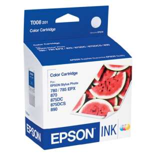 Original Epson T008201 high quality inkjet cartridge - photo