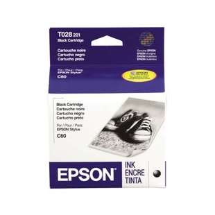 Original Epson T028201 high quality inkjet cartridge - black cartridge