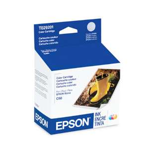 Original Epson T029201 high quality inkjet cartridge - color cartridge