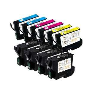 Remanufactured high quality inkjet cartridges Multipack for Epson T032 / T042 - 10 pack