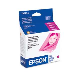 Original Epson T034320 high quality inkjet cartridge - magenta