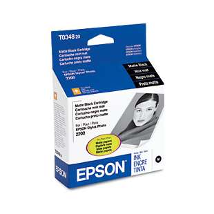Original Epson T034820 high quality inkjet cartridge - matte black