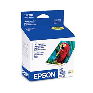Original Epson T041020 high quality inkjet cartridge - color cartridge