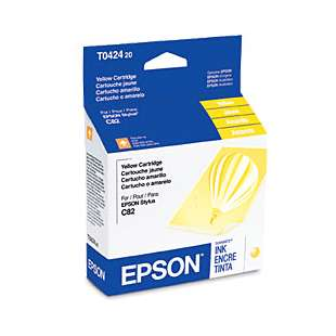 Original Epson T042420 high quality inkjet cartridge - yellow