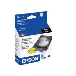 Original Epson T044120 high quality inkjet cartridge - black cartridge