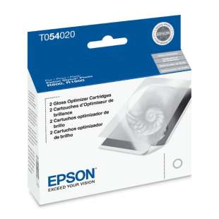Original Epson T054020 (54 ink) high quality inkjet cartridge - gloss optimizer