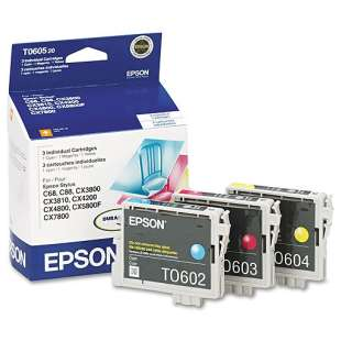 Original Epson T060520 Multipack - 3 pack