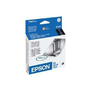Original Epson T060120 (60 ink) high quality inkjet cartridge - black cartridge