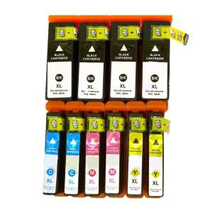 Remanufactured high quality inkjet cartridges Multipack for Epson 68 / 69 - 10 pack