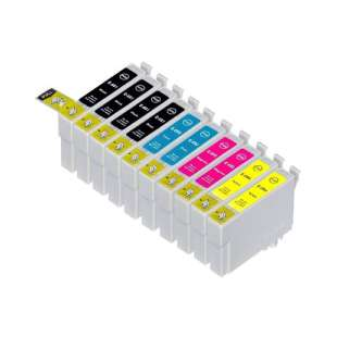Remanufactured high quality inkjet cartridges Multipack for Epson 69 - 10 pack