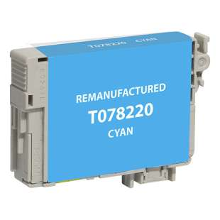 Remanufactured Epson T078220 (78 ink) high quality inkjet cartridge - cyan