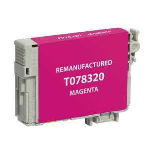 Remanufactured Epson T078320 (78 ink) high quality inkjet cartridge - magenta