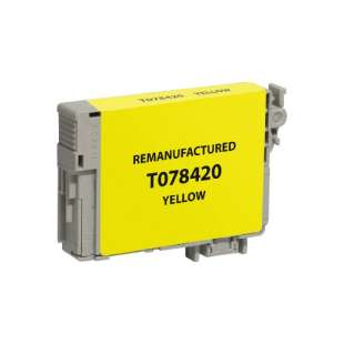 Remanufactured Epson T078420 (78 ink) high quality inkjet cartridge - yellow