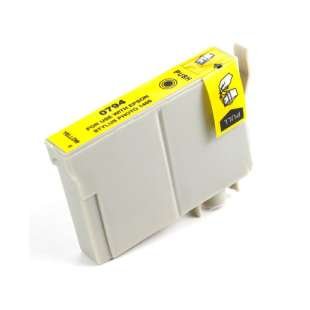 Remanufactured Epson T079420 (79 ink) high quality inkjet cartridge - high capacity yellow