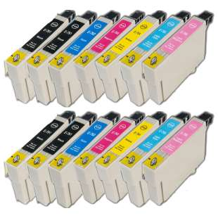 Remanufactured high quality inkjet cartridges Multipack for Epson 79 - 14 pack