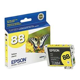Original Epson T088420 (88 ink) high quality inkjet cartridge - yellow
