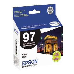 Original Epson T097120 (97 ink) high quality inkjet cartridge - extra high yield black