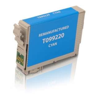 Remanufactured Epson T099220 (99 ink) high quality inkjet cartridge - cyan