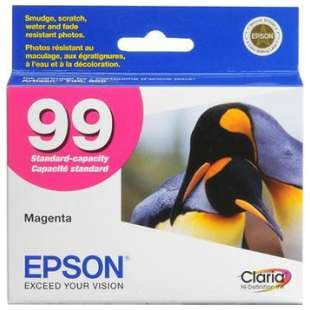 Original Epson T099320 (99 ink) high quality inkjet cartridge - magenta