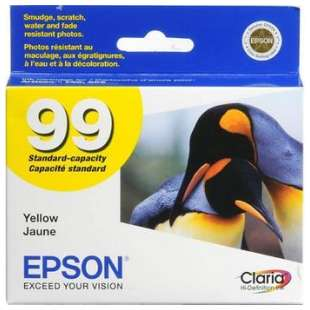Original Epson T099420 (99 ink) high quality inkjet cartridge - yellow