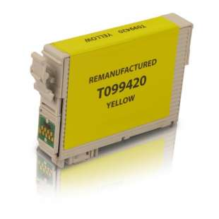 Remanufactured Epson T099420 (99 ink) high quality inkjet cartridge - yellow