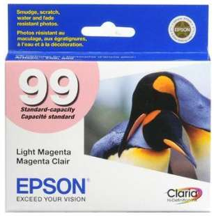 Original Epson T099620 (99 ink) high quality inkjet cartridge - light magenta
