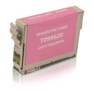 Remanufactured Epson T099620 (99 ink) high quality inkjet cartridge - light magenta