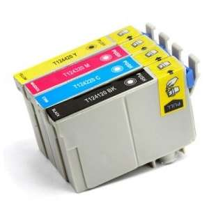 Remanufactured high quality inkjet cartridges Multipack for Epson 124 - 4 pack