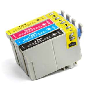 Remanufactured high quality inkjet cartridges Multipack for Epson 125 - 4 pack
